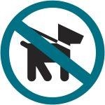 logo interdiction des animaux dans les bus de transport Optymo territoire de Belfort