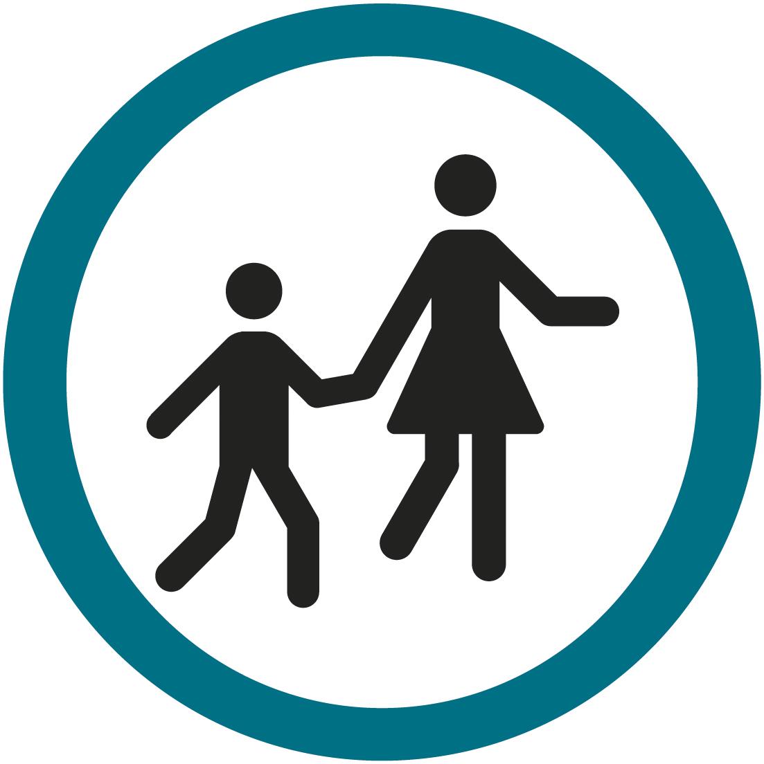 logo piéton transport scolaire Optymo territoire de Belfort