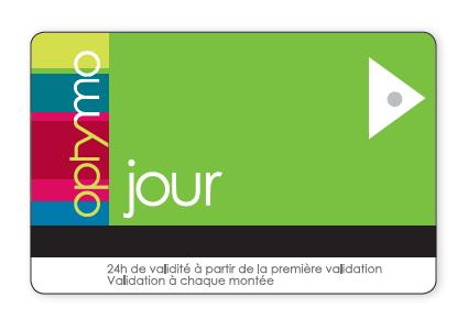ticket pour toute la journée à utiliser pour les transports dans Belfort